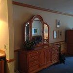 Spacious landview room
