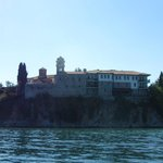 View of Hotel from Lake Ohrid