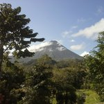 Arenal Volcano From My Room At Kokoro LaSelva Resort Costa R