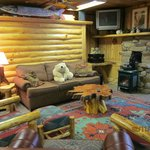 Polar Bear Cottage Living Room