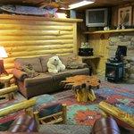 Polar Bear Cottage Living Room