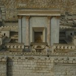 A model of Jerusalem during the second temple period