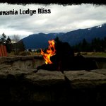 Gas fire pit at the lodge - Can purchase smores at the front desk