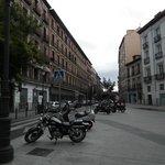 Conde de Romanones view - the hostel on the right