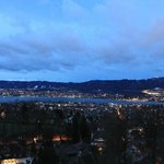 View over Zurich Lake early Morning