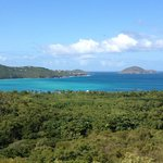 Magen's Bay, 1/2 mile down the hill