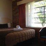 room overlooking parklands