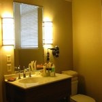 bathroom lighting - king suite