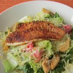 Blackened Snapper Ceasar Salad