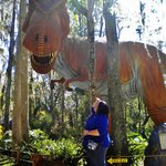 The detail on these dinos has to be seen in person to be belived -- awesome!