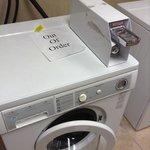 2nd floor washing machine.