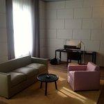 junior suite, desk area