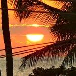 Maui sunset from Island Surf, Kihei
