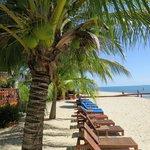 resort beach area