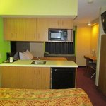 Two Queen Beds, Kitchenette Microtel, Pigeon Forge TN