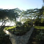 Chilo gardens at Sunset
