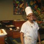 Cute chef!
