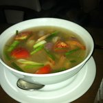 Tom Yam Soup! So delicious!