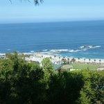 der Blick über Camps Bay