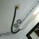 impianto ellettrico plafoniera bagno molto a norma