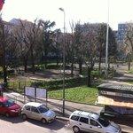 Piazza Aspromonte con il sole