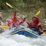 summer fun on the Soca River