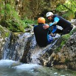 canyoning in Susec