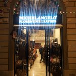 The best leather shop in florence
