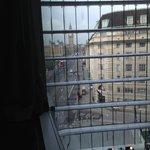 View from atrium facing room, 6th Floor