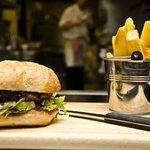 Browns Barn Homemade Burger & Chunky Fries
