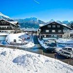 Hotel Bergruh im Winter