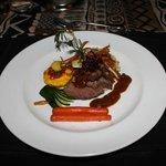 Dinner - gemsbok fillet