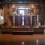 The cornmash vats
