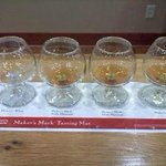 Tasting at the end of the tour