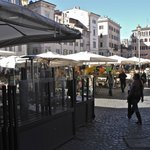 Ten steps to Campo de'Fiori Square
