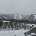 Looking at the mountain from the Killington Resort