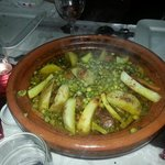 Lamb & vegetable tagine - yummy