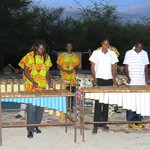 Karimba band playing