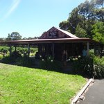 Mongrel Creek winery front/cellar house