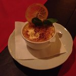 Creme brulee (lovely to look at but cold to eat)