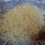 la semoule du couscous