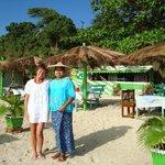 ein Strandrestaurant
