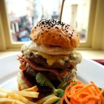 Mammoth 'Show Stopper' Burger