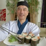 Chef Kuma at RAW - sushi in the sky at Radisson Blu Hotel & Spa, Galway