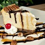 Homemade Turtle Cheesecake