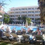 View of the La Paz pool