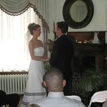 A wedding in the Parlor