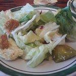 Endless salad dish