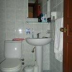 Bathroom spotless