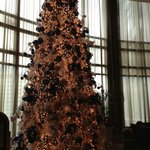 Beautiful Christmas Tree inside Ascott Makati lobby